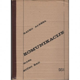 Ratko Aleksa: Komunikacije 1979. - mapa- ručni rad-numerirano izdanje 951